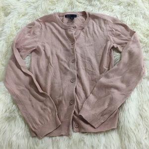 Gapkids pink cardigan size L(10)